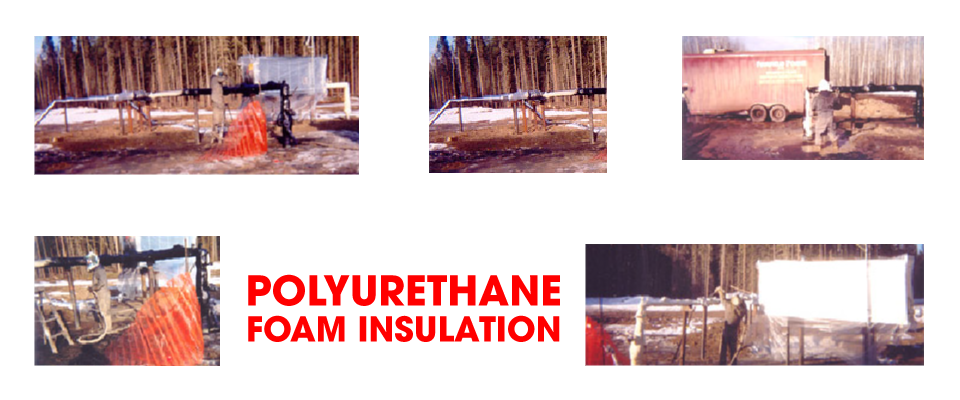 Specializing in polyurethane foam insulation | insulation application